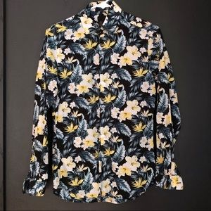 H&M Hawaiian Print Button Down